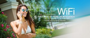 Free Internet WIFI Sandals Resort