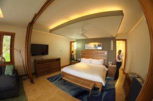 The one bedroom Romeo & Juliet Suite