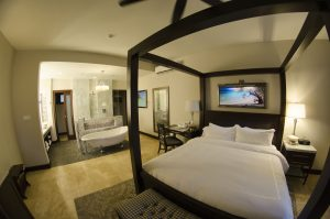 Romantic honeymoon suites at Sandals Royal Caribbean Resort.