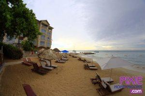 Butler beach at Sandals Resort