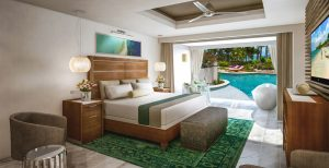 Oceanfront Swim-up Butler Suite w/ Patio Tranquility Soaking Tub