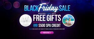 Black Friday Sale Beaches Resorts