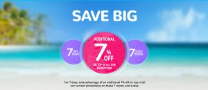 Beaches Resort 2019 sale