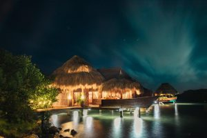 Caribbean bungalows