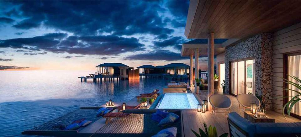 Top 6 Overwater Bungalows close to the USA