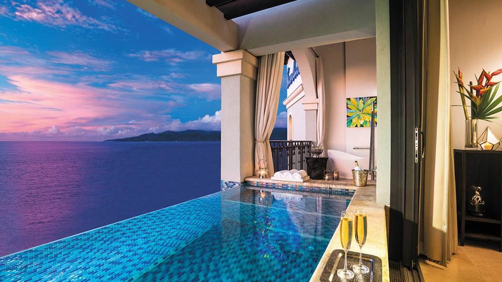 Sandals Resort Skypools Grenada