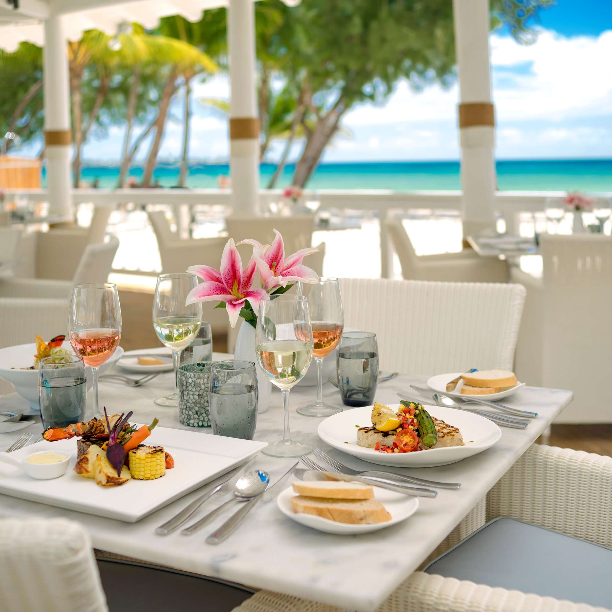 Sandals Barbados All Inclusive Dining